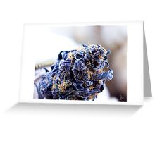 Purple Cadillac  Greeting Card