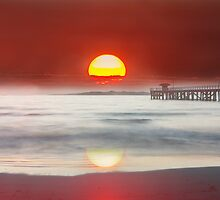 sun rise at point lonsdale by ketut suwitra