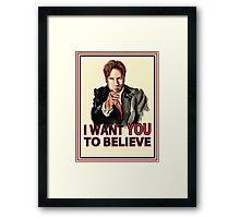 Uncle Mulder Framed Print
