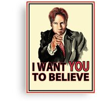 Uncle Mulder Canvas Print