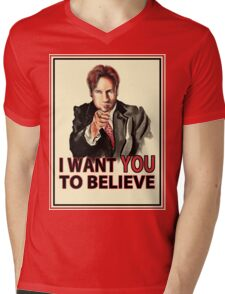 Uncle Mulder Mens V-Neck T-Shirt
