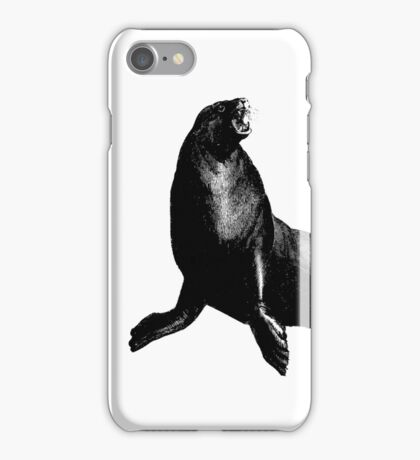Angry Sea Lion iPhone Case/Skin