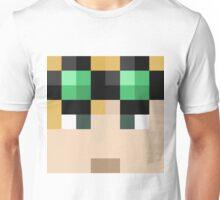 LividCoffee Minecraft skin - Yogscast Duncan face Unisex T-Shirt