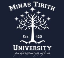 Minas Tirith University by Konoko479