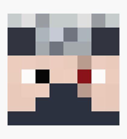 Ethoslab Minecraft skin - Etho face Photographic Print