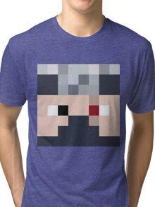 Ethoslab Minecraft skin - Etho face Tri-blend T-Shirt