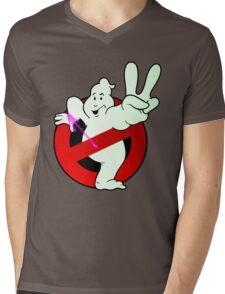 Twice The Know - Twice the Power! (logo)  Mens V-Neck T-Shirt
