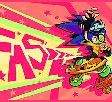 Gotta Skate Fast by FlickerFade