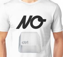 NO Ctrl Unisex T-Shirt