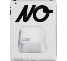 NO Ctrl iPad Case/Skin