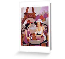PARIS II Greeting Card