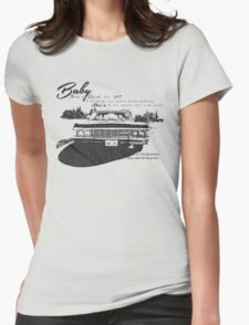 Baby Supernatural 67 Impala Womens Fitted T-Shirt