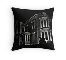 Haunted House At Waterloo Village, Byram Township NJ, USA Throw Pillow