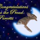 Congratulations To The Proud Parents Bunny Rabbit by jkartlife