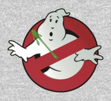 Who Busts The Ghost Busters? (logo) v3 Kids Clothes