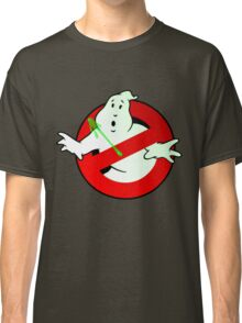 Who Busts The Ghost Busters? (logo) v3 Classic T-Shirt