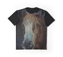 Moonlight on the forelock Graphic T-Shirt