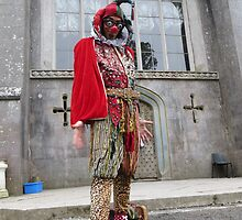 Jester at Castle by jollykangaroo