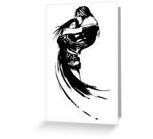Squall And Riona Greeting Card