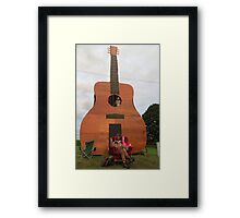 Play the Guitar Framed Print