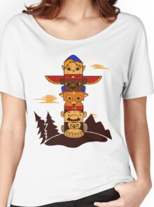 64bit Totem Pole Women's Relaxed Fit T-Shirt