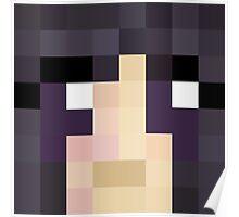 Nanosounds Minecraft skin - Yogscast Kim face Poster