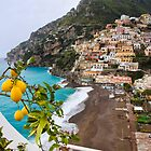Positano Spring Scenic by George Oze