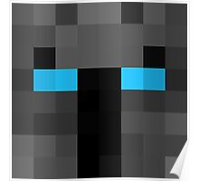popularMMos Minecraft skin Poster
