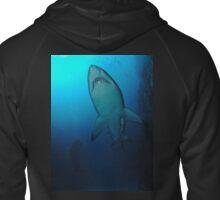 Grey Nurse Shark, South West Rocks Zipped Hoodie