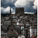 Whitby Skyline Close Up by MJmerry