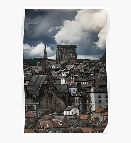 Whitby Skyline Close Up Poster