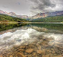 Alpine Lake by Stellina Giannitsi
