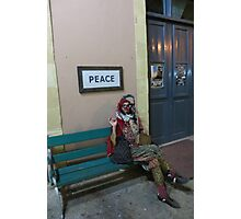 A Jester in Cyprus Photographic Print