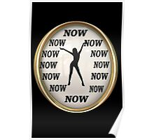 ✾◕‿◕✾NOW GIRL CLOCK PICTURE✾◕‿◕✾ Poster