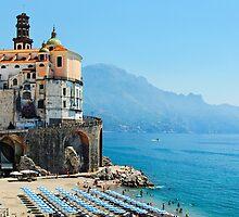 Amalfi Coast Beach by George Oze