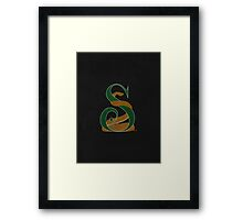 Of Ambition & Cunning Framed Print