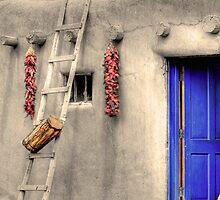 Taos Pueblo by Stellina Giannitsi