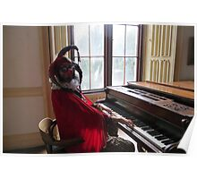Jester Playing Piano Poster