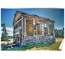 The Old Schoolhouse Poster