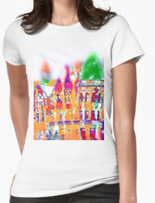 Queens Park Toronto-Available As Art Prints-Mugs,Cases,Duvets,T Shirts,Stickers,etc Womens Fitted T-Shirt