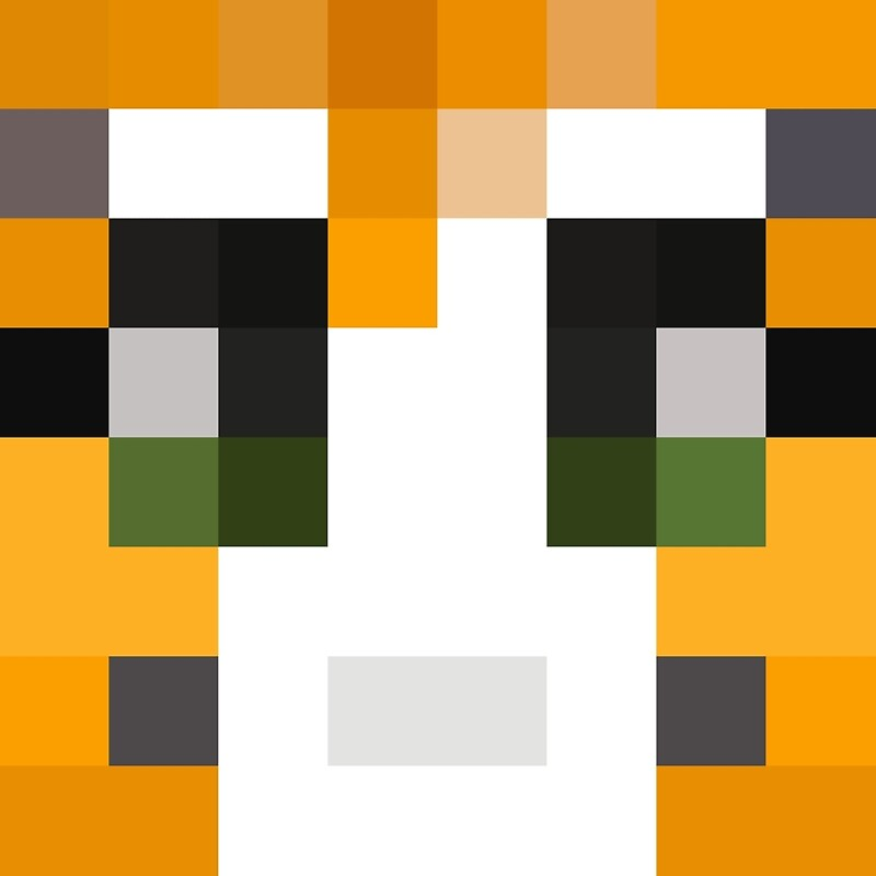 "Stampy Minecraft skin"" Framed Prints by youtubedesign 