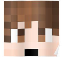 TheBajanCanadian Minecraft skin Poster