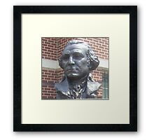 Bust of George Washington Framed Print