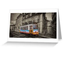 Carris Tram 574 Lisbon Greeting Card
