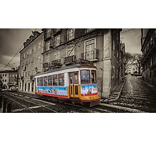Carris Tram 574 Lisbon Photographic Print