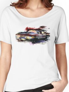 Baby Supernatural 67 Impala Watercolor Women's Relaxed Fit T-Shirt