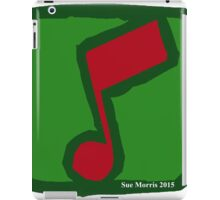 Eighth Note Red I iPad Case/Skin