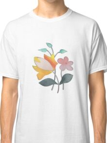 Vintage fresh flowers Classic T-Shirt