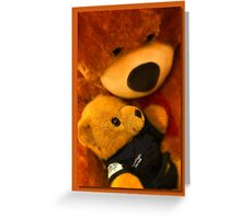 Teddy care 01 Greeting Card