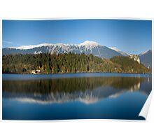 Beautiful lake Bled Poster